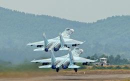 Tất cả các loại máy bay hiện đại của Sư đoàn Không quân 372 cùng xuất kích diệt mục tiêu