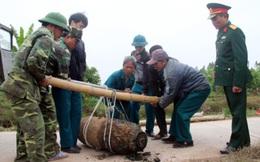 Bộ Chỉ huy quân sự Hưng Yên trục vớt thành công quả bom 450kg
