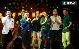 Quá 12h đêm, Quang Linh và hàng chục nghệ sĩ vẫn miệt mài hát vì miền Trung