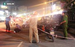 Chở bạn gái va chạm trên đường Sài Gòn, rút dao chém 4 người thương vong