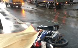 Bình Dương: Tránh chai nước trên đường, nam thanh niên bị xe tải cán chết