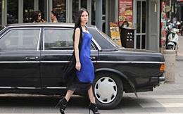 Ca sĩ Thu Thủy sành điệu với thời trang xuống phố