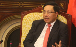 """Phó Thủ tướng Phạm Bình Minh: """"Việt Nam luôn thúc giục sớm hoàn thiện COC"""""""