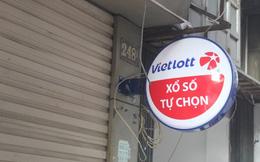 """Đại lý chính thức còn im lìm nhưng vé """"chui"""" Vietlott đã nhộn nhịp ở Hà Nội"""