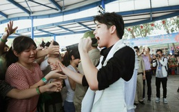 Noo Phước Thịnh, Tiến Quang được hâm mộ tại Hà Nội