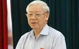 """Tổng Bí thư Nguyễn Phú Trọng: """"Có ai dám tự phê bình, nhận kỷ luật, khuyết điểm không?"""""""