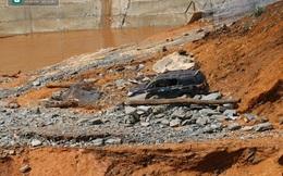 Cận cảnh nơi vỡ cống dẫn dòng thủy điện Sông Bung 2 khiến 2 công nhân tử vong