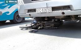 Xe đầu kéo cuốn người đàn ông vào gầm kéo lê giữa giao lộ ở Sài Gòn