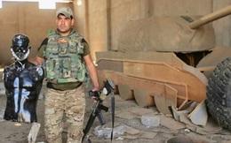 """IS dùng xe tăng gỗ làm """"chim mồi"""" đánh lừa liên quân"""