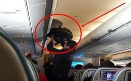 Khách Trung Quốc bị bắt quả tang trộm tiền trên máy bay