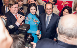 Lý Nhã Kỳ vinh dự diện kiến Tổng thống Pháp