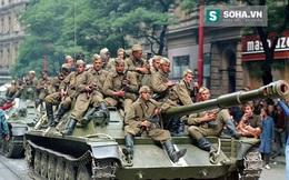 Lính dù, xe tăng và BBCG LX thần tốc phong tỏa chặt Tiệp Khắc