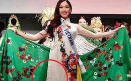 Mỹ nhân Việt Nam thi HH Quốc tế gây tranh cãi vì mặc áo nhăn nhúm