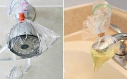 Với 6 mẹo này, bạn chỉ mất 5 phút để làm nhà tắm sạch như mới