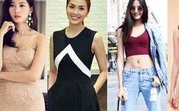 4 mỹ nhân ngực lép vẫn mặc đẹp khuynh đảo showbiz Việt