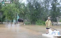 Quảng Nam: Nước lũ dâng cao, động đất xuất hiện