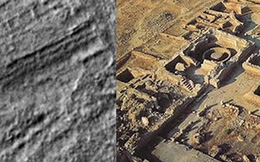 Giật mình với hình ảnh kết cấu lạ trên bề mặt sao Hỏa giống công trình trên Trái Đất