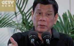 """""""Tình anh em nồng ấm"""": Duterte tuyên bố TQ là hy vọng duy nhất của Philippines"""