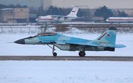Tiêm kích MiG-35 bất ngờ lộ diện ở ngoại ô Moscow