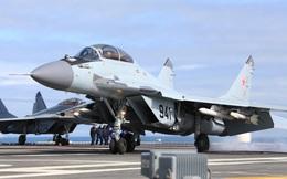Tiêm kích Nga trên tàu sân bay sẽ bắn thử tên lửa mới tại Syria