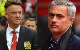 """Con số khiến Mourinho trở thành """"khắc tinh"""" của... Van Gaal"""