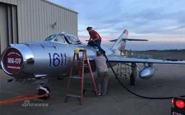 Mỹ phục chế tiêm kích MiG-17 vì ngưỡng mộ Không quân Việt Nam