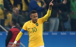 Neymar ghi bàn, Olympic Brazil vào bán kết