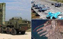 Lực lượng khổng lồ của Nga biến Hmeymim thành pháo đài Trung Đông