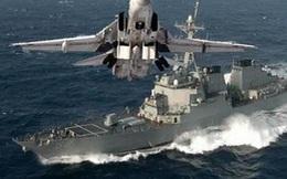 Nga biến chiến hạm Aegis Mỹ làm mục tiêu tập tấn công