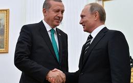 """Ông Putin """"nhấn nút"""" khôi phục quan hệ với Thổ Nhĩ Kỳ"""