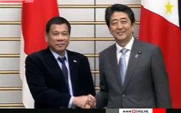 """Duterte: Philippines """"đứng về phía Nhật Bản"""" trong vấn đề Biển Đông"""