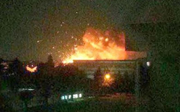 Nổ tại xưởng tàu ngầm Hàn Quốc gây thương vong