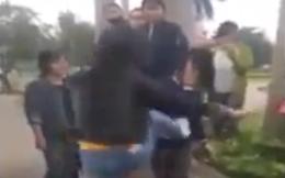 Clip nữ sinh lớp 10 bị đánh hội đồng kinh hoàng tại công viên ở Nghệ An