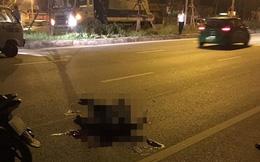 Khởi tố lái xe ô tô đâm tử vong trung úy công an