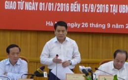 Chủ tịch Hà Nội Nguyễn Đức Chung nói gì việc cỏ mọc um tùm trên phố?