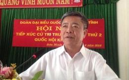 Ông Võ Kim Cự tiếp xúc cử tri Hà Tĩnh: Lấy hiệu quả làm thước đo