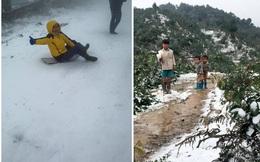 Tuyết rơi, giới trẻ cười, người dân khóc và lời bình cay nghiệt