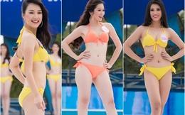 36 thí sinh Hoa hậu Việt Nam khoe thân hình nóng bỏng với bikini