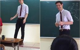 Học sinh nào ở Hà Nội cũng muốn được học tiết của thầy giáo này