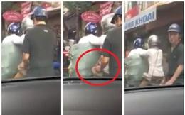 [Clip] Cảnh tượng sửng sốt ngay giữa phố Hà Nội