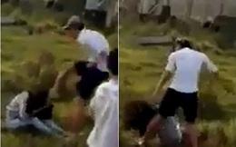 Bức xúc trước cảnh nam thanh niên đánh chảy máu mũi cô gái trẻ, nhiều người đứng cổ vũ mà không hề can ngăn