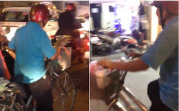 """Sài Gòn dễ cưng hơn với ông lão ve chai vừa đạp xe vừa nghêu ngao hát """"Xuân ơi xuân đã về"""""""