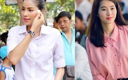 Phạm Hương, Thu Thảo: Đã đẹp rồi thì mặc style đơn giản đến mấy cũng là đỉnh cao nhan sắc