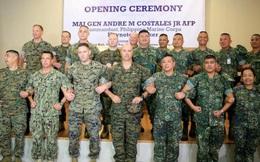 """Mỹ-Philippines tập trận tái chiếm đảo """"lần cuối"""" gần vùng tranh chấp ở Biển Đông"""