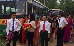 Có hay không màn rước dâu bằng xe buýt ở Vĩnh Phúc?