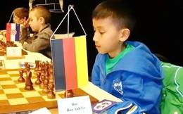 Kỳ thủ gốc Việt vô địch cờ vua U10 nước Đức