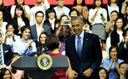 Chat với cô gái được làm MC buổi trò chuyện cùng Obama