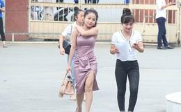 """Truy tìm cô gái """"gợi cảm"""" nhất trong buổi làm thủ tục thi THPT tại Nghệ An"""