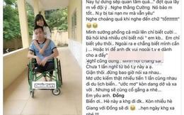 Chàng trai cụt chân tìm thấy tình yêu đẹp nhờ Facebook