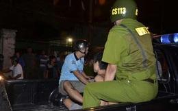 Công an vây bắt kẻ cầm dao đâm CSGT rồi bỏ chạy về nhà cố thủ